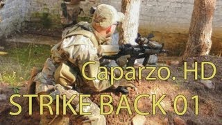 Airsoft sin cortes - Strike back 01 - Caparzo. HD
