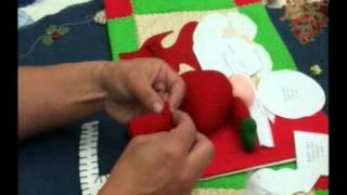 getlinkyoutube.com-Aprender en Casa Papa Noel para el Arbol de Navidad // TV RED