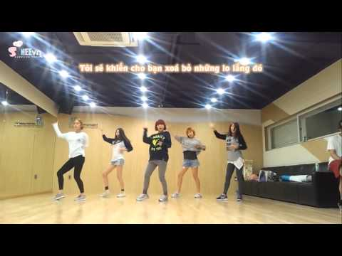 [SHVN][Vietsub][HD] WonderGirls - Like This _ Dance Practice