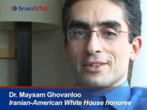 MAYSAM Ghovanloo, Iranian scientist (Tongue Controlled System)