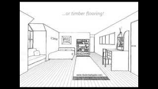 getlinkyoutube.com-One Point Perspective Room Tutorial