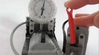 Lego Technic High pressure compressor with auto valve