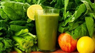getlinkyoutube.com-Glowing Green Smoothie Recipe for Great Skin & Weight Loss.