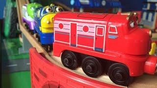 getlinkyoutube.com-2015 - Chuggington Toys Wooden Railway - Koko, Brewster, Wilson from Episodes