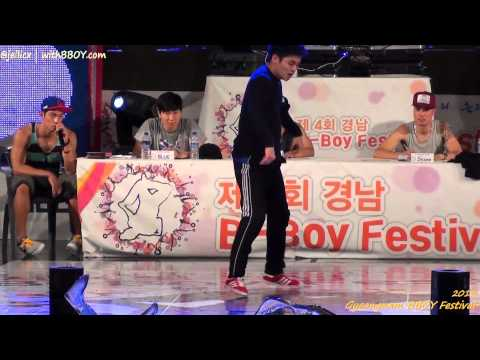 5vs5 TOP8-3 | Jinjo Commandoz vs Fusion MC(w) | Gyeongnam BBOY Festival 2012
