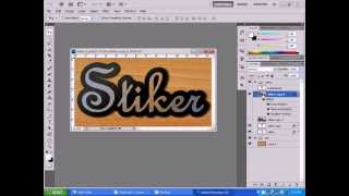 getlinkyoutube.com-Desain Stiker Di Photoshop
