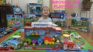 getlinkyoutube.com-Mickey Mouse Clubhouse Toy: Wobble Bobble Choo Choo Train + Bump & Go Toys, etc...