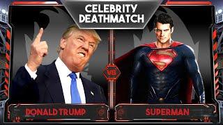 getlinkyoutube.com-WWE 2K16 Celebrity Deathmatch Tournament :: Donald Trump vs Superman