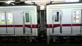 東武鉄道10030系の連結部注意喚起放送