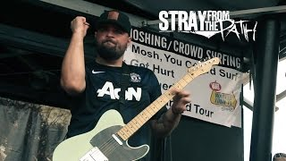 getlinkyoutube.com-Stray From The Path - Negative and violent Live Vans Warped Tour 2014 Houston