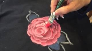 getlinkyoutube.com-Painting on Fabric
