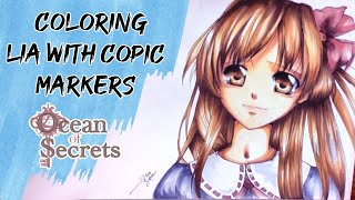 Coloring Lia with Copic colors~OC~ [watch in HD] AMV клипы 2011