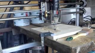 getlinkyoutube.com-Станок ЧПУ своими руками первый запуск, Home CNC machine, first run !!!