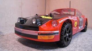 getlinkyoutube.com-Drift/Rally ラジドリ・タミヤ TT-01 1/10RC・ダットサン240Z サファリラリー ・(DATSUN 240Z SAFARI)