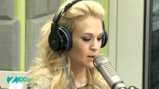 getlinkyoutube.com-Carrie Underwood Interview @ Z100 30/04/2012