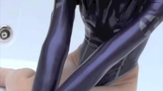 getlinkyoutube.com-ラバーレオタード