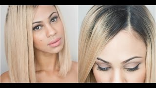 getlinkyoutube.com-How I Apply My Full-Lace Wigs: Natural Looking Part