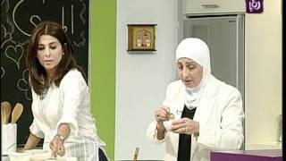 getlinkyoutube.com-غادة التلي تستضيف هند التلي لتطبخ المندي الجزء 1 | Roya