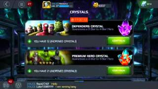 getlinkyoutube.com-More Defender Crystals!! | Marvel Contest of Champions
