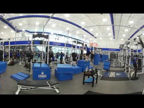 Look inside the Performance and Sport Science Center at IMG Academy