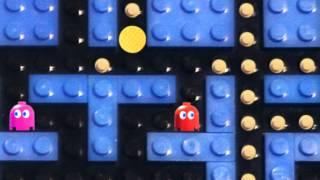 getlinkyoutube.com-Lego Bricksels: Pac-Man