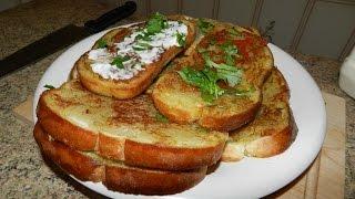 getlinkyoutube.com-Что приготовить когда в холодильнике пусто, Горячие Бутерброды с Картошкой!