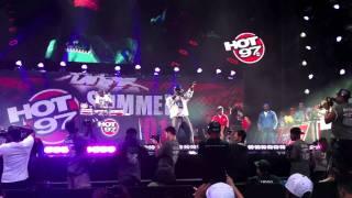 Lloyd Banks fait monter sur scène Mobb Deep au Summer Jam