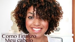 getlinkyoutube.com-Como Finalizo Meu Cabelo-Dedolis CinndyRizos