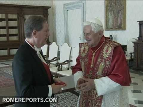 Manuel Tom�s Fernandes Pereira  new Portuguese Ambassador in the Vatican