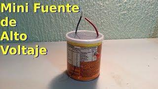 getlinkyoutube.com-Mini Fuente de Alto Voltaje Casera