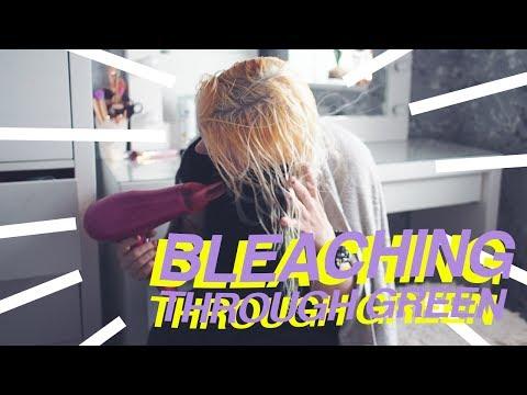 BLEACHING THROUGH GREEN