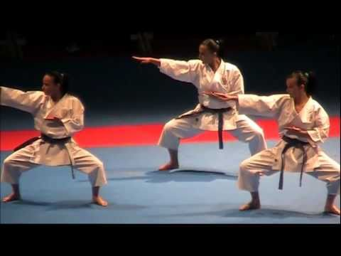 Kata + Bunkai ANAN by ITALY - Female FINAL 46th EKF European Karate Champions