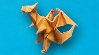 getlinkyoutube.com-Xếp con rồng - dragon - Origami