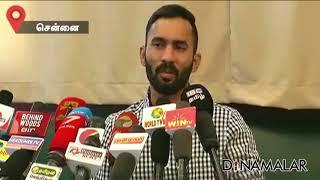Dinesh Karthik on Speaking in Tamil