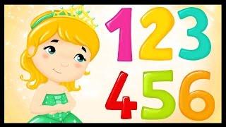 getlinkyoutube.com-La chanson des chiffres - Apprendre les chiffres avec les princesses