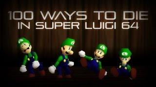 getlinkyoutube.com-100 Ways To Die in Super Luigi 64