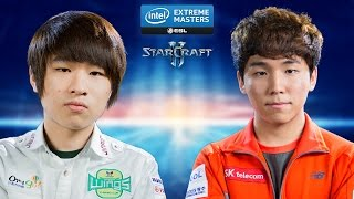 getlinkyoutube.com-StarCraft 2 - Maru vs. Dark (TvZ) - IEM Katowice 2015 - Quarterfinal
