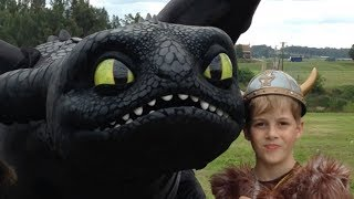 getlinkyoutube.com-The Real Toothless, How To Train Your Dragon 2 toys and TV show