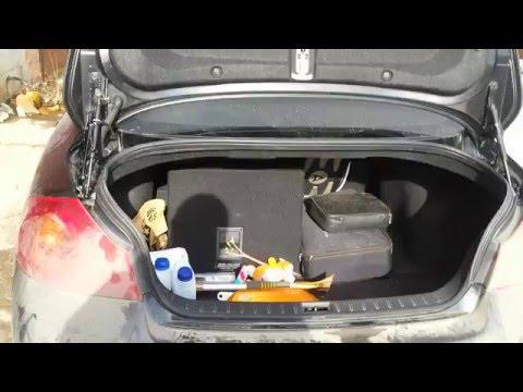 Привод багажника infiniti G25 (2)