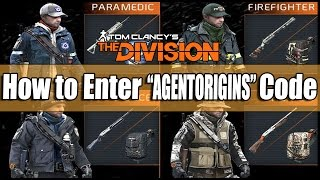 "getlinkyoutube.com-The Division: How to Enter the ""AGENTORIGINS"" Code to Get 4 Complete Gear Sets!"