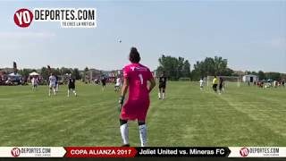 Joliet United vs. FC Mineras Copa Alianza Chicago 2017