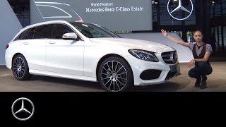 getlinkyoutube.com-The world premiere of the new C-Class Estate - Mercedes-Benz original