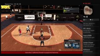 getlinkyoutube.com-Nba2k17 Stage Highrollers With Lockdown Defender!! Double REP STREAAAK