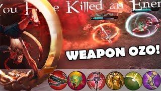 getlinkyoutube.com-Weapon Power OZO Build! | Vainglory [Update 1.14] New Hero Ozo Jungle Gameplay