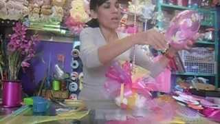 getlinkyoutube.com-CENTRO DE MESA BABY SHOWER// MANUALIDADES DE VERO