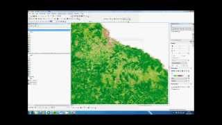 How to do change detection in ArcMap 10 (Using MODIS EVI MOD13Q1)