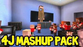 getlinkyoutube.com-Minecraft (Xbox360/PS3) - 4JStudios MASH-UP PACK! - Demonstration