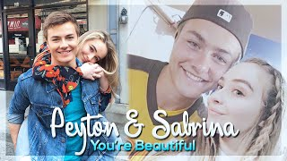 getlinkyoutube.com-Sabrina & Peyton ~ You're Beautiful