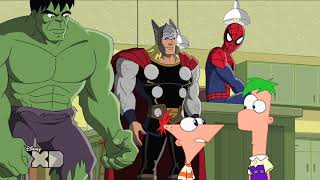 getlinkyoutube.com-Phineas and Ferb - Mission Marvel - Part 1
