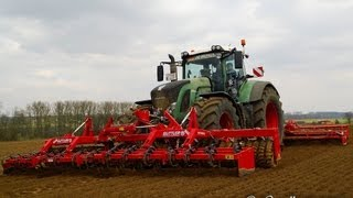getlinkyoutube.com-Fendt 939 en New Holland 8560 aardappelen planten 2013 - Gilleman en Gheenens